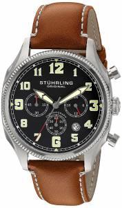 [ステューリングオリジナル]Stuhrling Original Monaco Analog Display Quartz Brown 584.01