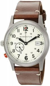 [モーメンタム]Momentum  Pathfinder III Analog Display Swiss Quartz Brown Watch 1M-SP60L2C