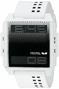 ベスタルヴェスタル Vestal Unisex DIG040 Digichord Digital Display Quartz White Watch