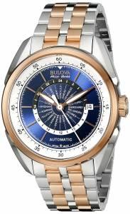 [ブローバ]Bulova 腕時計 Analog Display Automatic Self Wind Two Tone Watch 65B163 メンズ