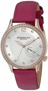 [ステューリングオリジナル]Stuhrling Original Quartz Stainless Steel and Pink 801.02