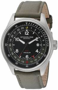 [ステューリングオリジナル]Stuhrling Original Aviator Stainless Steel Watch With 789.02