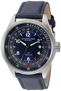 [ステューリングオリジナル]Stuhrling Original Aviator Stainless Steel Watch With 789.03