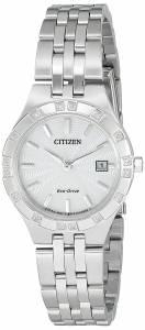 [シチズン]Citizen EcoDrive 'Sport' Quartz Stainless Steel Casual Watch, Color: EW2330-51A