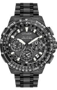 [シチズン]Citizen  'Navi Series' Quartz Titanium Casual Watch, Color:Black CC9025-85E メンズ