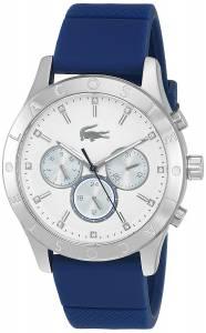 [ラコステ]Lacoste 'Charlotte' Quartz Stainless Steel and Silicone Casual Watch, 2000942
