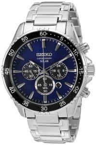 [セイコー]Seiko Watches  Seiko 'Chronograph' Quartz Stainless Steel Dress Watch SSC445