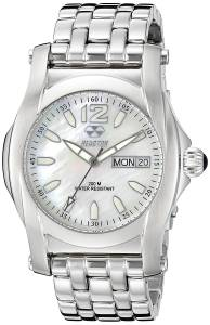 [リアクター]REACTOR  24mm 'Curie Mid' Stainless Steel Watch Band, Color:SilverToned 90005