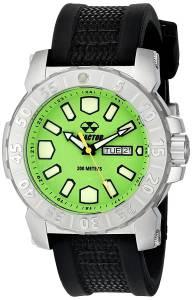 [リアクター]REACTOR  Meltdown 2 Analog Display Japanese Quartz Black Watch 76809 メンズ