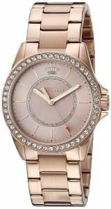 [ジューシークチュール]Juicy Couture  Laguna Quartz Gold Casual Watch 1901410