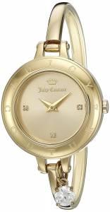 [ジューシークチュール]Juicy Couture  'Melrose' Quartz Tone and GoldPlated Casual 1901432