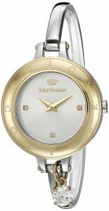 [ジューシークチュール]Juicy Couture  'Melrose' Quartz Gold and Stainless Steel 1901431