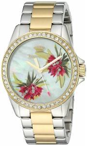 [ジューシークチュール]Juicy Couture  Laguna Quartz Silver and Gold and Stainless 1901425