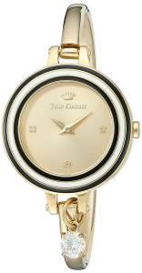 [ジューシークチュール]Juicy Couture 'Melrose' Quartz Tone and Gold Plated Casual 1901434