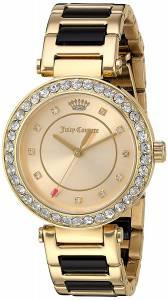[ジューシークチュール]Juicy Couture  'Cali' Quartz GoldTone and Ceramic Casual 1901422