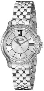 [ブローバ]Bulova 腕時計 Analog Display Analog Quartz Silver Watch 63R145 レディース