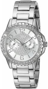 [ゲス]GUESS 腕時計 MidSize SilverTone MultiFunction Watch U0705L1 レディース