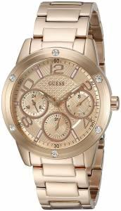 [ゲス]GUESS 腕時計 Classic Sport Rose GoldTone MultiFunction Watch U0778L3 レディース