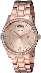 [ゲス]GUESS 腕時計 VintageInspired Rose GoldTone Watch U0764L3 レディース