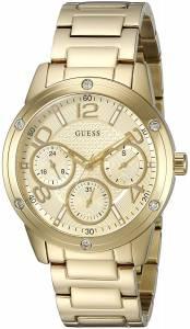[ゲス]GUESS 腕時計 MidSize GoldTone MultiFunction Watch U0778L2 レディース