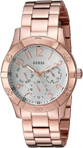 [ゲス]GUESS 腕時計 Classic Sporty Rose GoldTone MultiFunction Watch U0816L3 レディース