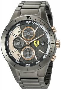 [フェラーリ]Ferrari 腕時計 Quartz Resin Casual Watch, Color:Black 0830304 メンズ