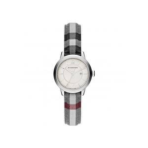 バーバリー クオーツ レディース 腕時計 BU10103 シルバー