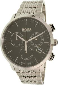 [ヒューゴボス]HUGO BOSS  Men's Chronograph Analog Dress Quartz Watch 1513267 メンズ
