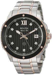 [ブローバ]Bulova 腕時計 Quartz Stainless Steel Dress Watch 98D127 メンズ [並行輸入品]