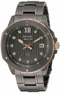 [ブローバ]Bulova 腕時計 Quartz Stainless Steel Dress Watch 98D128 メンズ [並行輸入品]