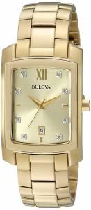 [ブローバ]Bulova 腕時計 Quartz Stainless Steel Dress Watch 97D107 メンズ [並行輸入品]