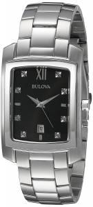 [ブローバ]Bulova  Quartz Stainless Steel Dress Watch, Color:SilverToned 96D125 メンズ
