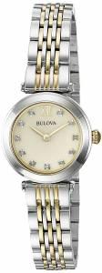 [ブローバ]Bulova 腕時計 Quartz Stainless Steel Dress Watch 98P154 レディース