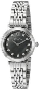 [ブローバ]Bulova 腕時計 Quartz Stainless Steel Dress Watch 96P169 レディース