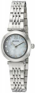 [ブローバ]Bulova  Quartz Stainless Steel Dress Watch, Color:SilverToned 96P167 レディース