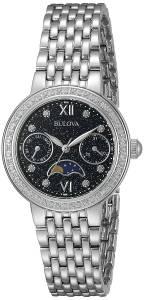 [ブローバ]Bulova  Quartz Stainless Steel Dress Watch, Color:SilverToned 96R210 レディース