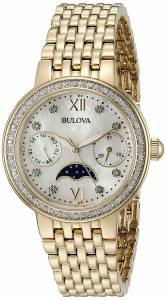 [ブローバ]Bulova 腕時計 Quartz Stainless Steel Dress Watch 98R224 レディース