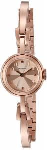 [ブローバ]Bulova 腕時計 Quartz Stainless Steel and Gold Dress Watch 97L156 レディース