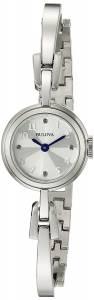 [ブローバ]Bulova 腕時計 Quartz Stainless Steel Dress Watch 96L222 レディース