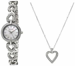 [ブローバ]Bulova 腕時計 Quartz Stainless Steel Dress Watch 96X136 レディース