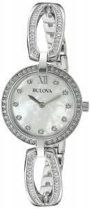 [ブローバ]Bulova 腕時計 Quartz Stainless Steel Dress Watch 96L223 レディース