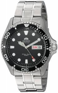[オリエント]Orient  FAA02004B9 Ray II Analog Automatic SilverToned Stainless Steel FA002004B9