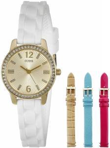 [ゲス]GUESS 腕時計 Feminine Interchangeable Wardrobe Watch Set U0784L2 レディース