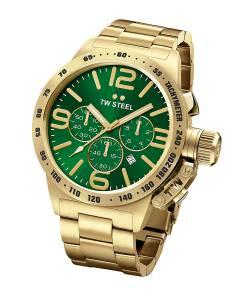[ティーダブルスティール]TW Steel 腕時計 Canteen Green Watch CB224 メンズ