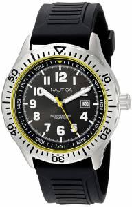 [ノーティカ]Nautica 'NSR 105' Quartz Stainless Steel and Silicone Casual Watch, NAD12538G