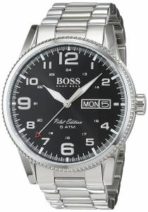 [ヒューゴボス]Hugo Boss 1513327 Watch Pilot Stainless steel case, Stainless 7613272200462