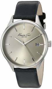 [ケネスコール]Kenneth Cole New York 'Classic' Quartz Stainless Steel and Black 10029304