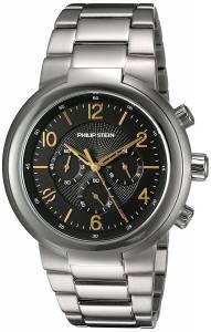 [フィリップ ステイン]Philip Stein 'Active' Quartz Stainless Steel Casual Watch, 32-ABG-SS