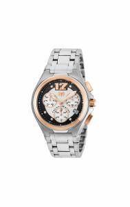[テクノマリーン]TechnoMarine  Manta Neo Classic Quartz Black, Silver Dial Watch TM-215011