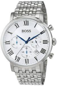 [ヒューゴボス]Hugo Boss  Elevation Stainless Steel Chronograph Watch 1513322 7613272200417